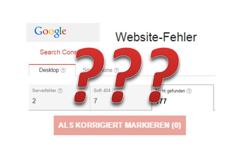 Wie du WordPress Website-Fehler in Google auf einen Schlag erledigst!